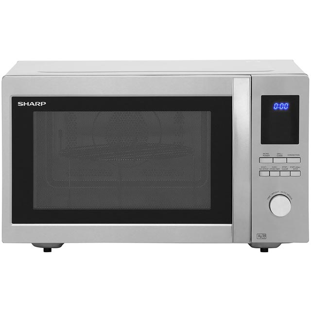 Sharp R982STM 42 Litre Combination Microwave Oven - Silver - R982STM_SI - 1