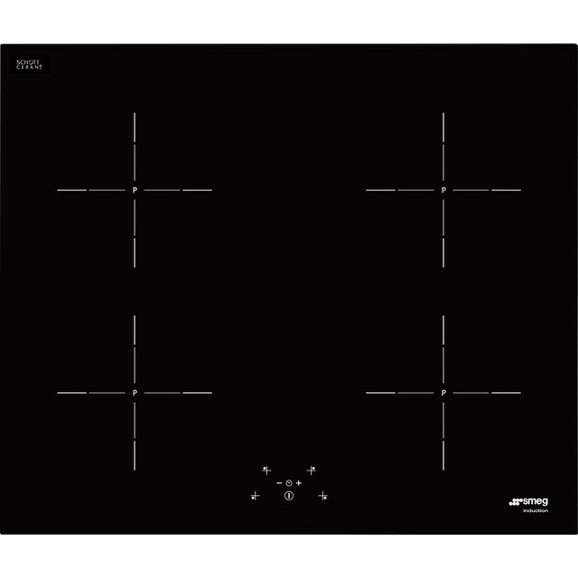 Smeg SI564DUK Built In Induction Hob - Black - SI564DUK_BK - 1