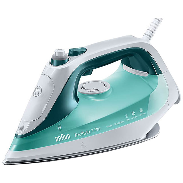 Braun SI7042 2400 Watt Steam Iron -Green