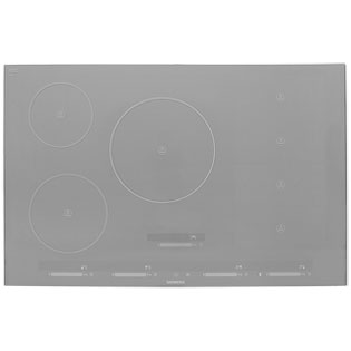 Siemens IQ-700 EH879SP17E 81cm Induction Hob - Metal Look Glass