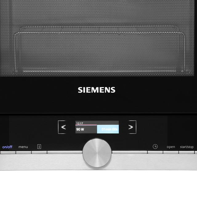 Siemens IQ-700 BE634LGS1B Built In Microwave With Grill - Black / Stainless Steel - BE634LGS1B_SS - 4