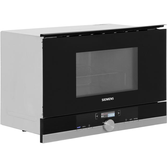 Siemens IQ-700 BE634LGS1B Built In Microwave With Grill - Black / Stainless Steel - BE634LGS1B_SS - 5