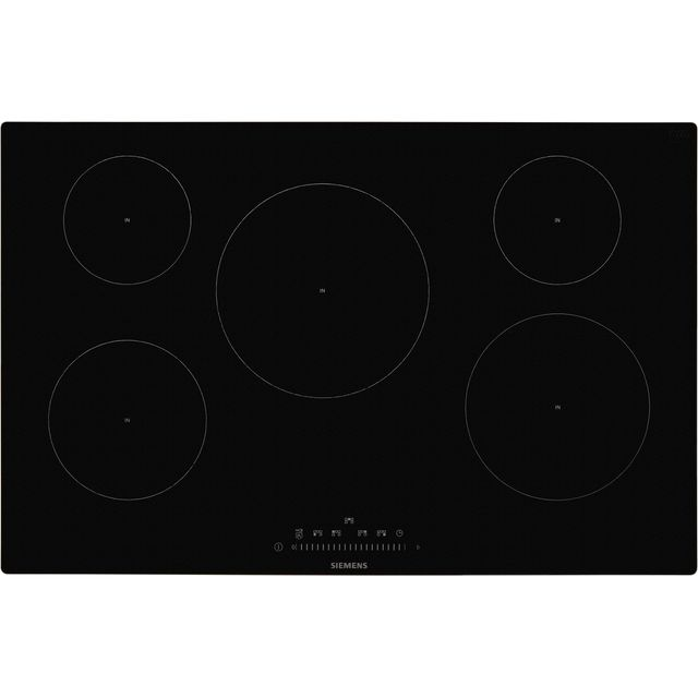 Siemens IQ-100 EH801FVB1E Built In Induction Hob - Black - EH801FVB1E_BK - 1