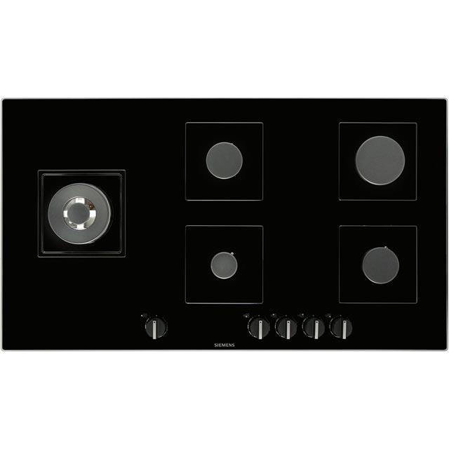 Siemens IQ-500 EP9A6SB90 Built In Gas Hob - Black - EP9A6SB90_BK - 4
