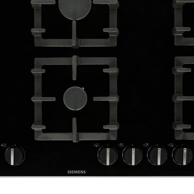 Siemens IQ-500 EP9A6SB90 Built In Gas Hob - Black - EP9A6SB90_BK - 5