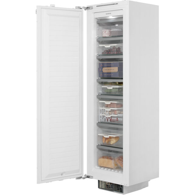 Siemens IQ-700 GI38NA55GB Built In Upright Freezer - White - GI38NA55GB_WH - 1