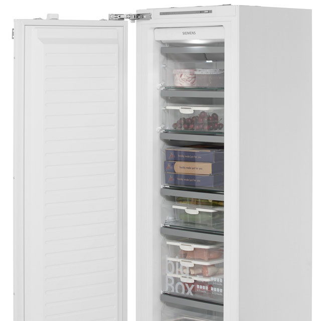Siemens IQ-700 GI38NA55GB Built In Upright Freezer - White - GI38NA55GB_WH - 2