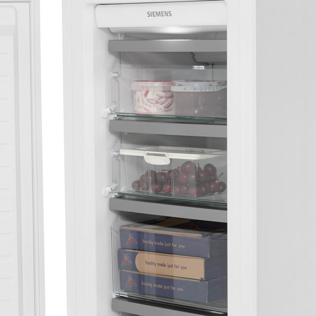 Siemens IQ-700 GI38NA55GB Built In Upright Freezer - White - GI38NA55GB_WH - 3