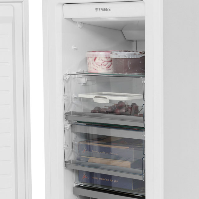 Siemens IQ-700 GI38NA55GB Built In Upright Freezer - White - GI38NA55GB_WH - 5