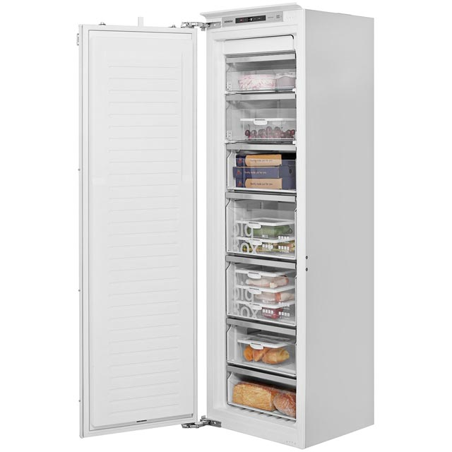 Siemens IQ-500 GI81NAE30G Integrated Frost Free Upright Freezer with Fixed Door Fixing Kit - A++ Rated - GI81NAE30G_WH - 1