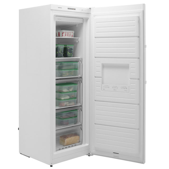 Siemens IQ-300 GS29NVW3PG Upright Freezer - White - GS29NVW3PG_WH - 4