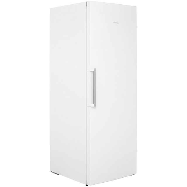 siemens gs58naw41 free standing 360 litres a upright freezer white new from ebay. Black Bedroom Furniture Sets. Home Design Ideas
