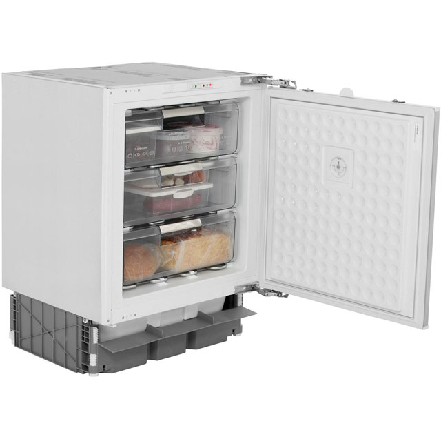 Siemens GU15DA50GB Integrated Under Counter Freezer with Fixed Door Fixing Kit - A+ Rated