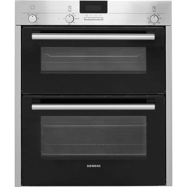 Siemens IQ-100 HB13NB521B Built Under Double Oven - Stainless Steel - A Rated