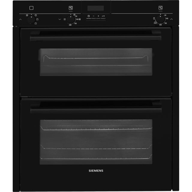 Siemens HB13NB621B Black, iQ100, Built in Double Oven lowest price