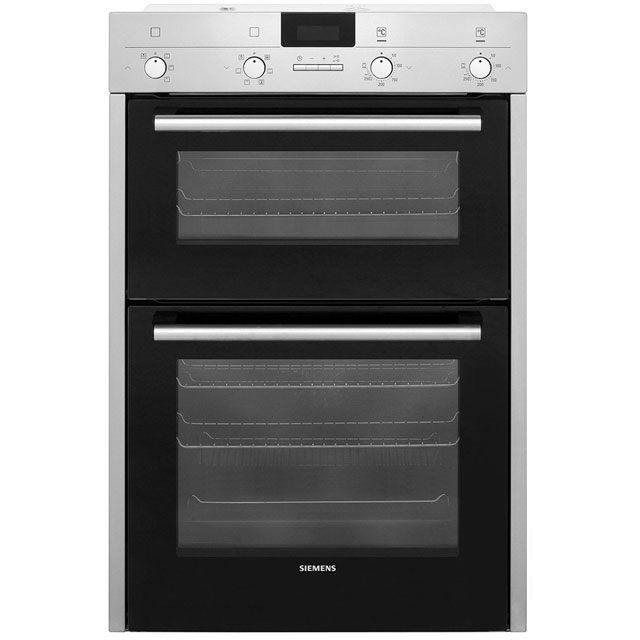 Siemens IQ-100 HB43MB520B Integrated Double Oven in Stainless Steel