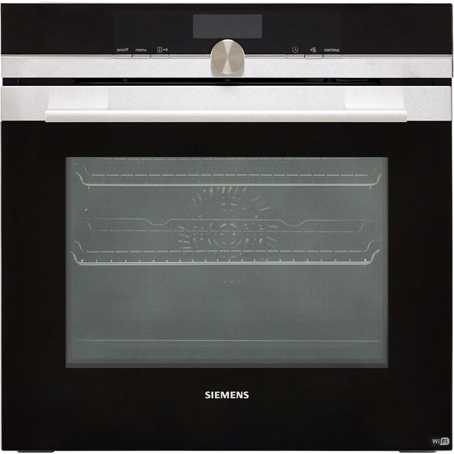 Siemens IQ-700 HB656GBS6B Wifi Connected Built In Electric Single Oven - Stainless Steel - A+ Rated - HB656GBS6B_SS - 1