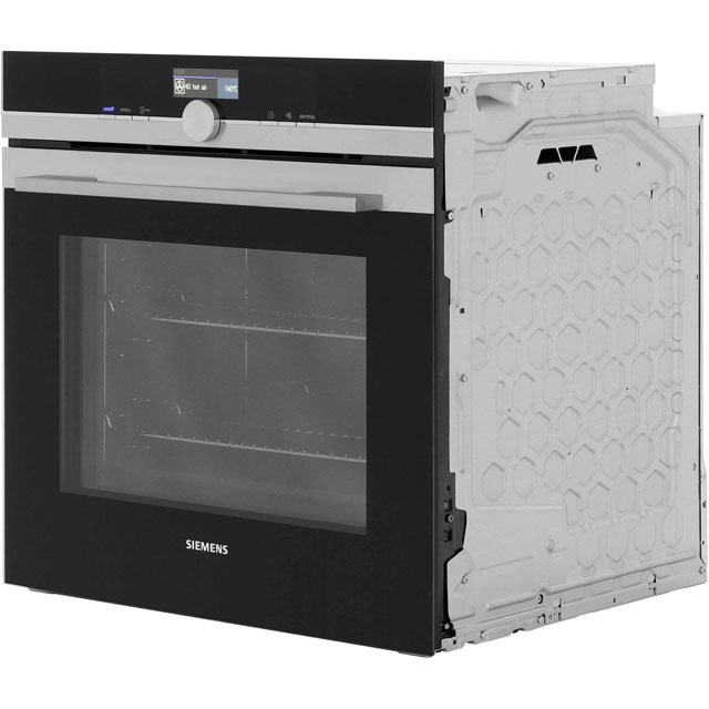 Siemens IQ-700 HB672GBS1B Built In Electric Single Oven - Stainless Steel - HB672GBS1B_SS - 5