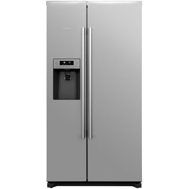 Siemens IQ-500 KA90IVI20G American Fridge Freezer - Stainless Steel - A+ Rated Best Price, Cheapest Prices