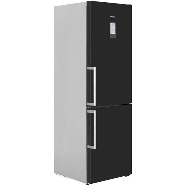 Siemens IQ-500 KG36NAB35G Wifi Connected 65/35 Frost Free Fridge Freezer - Black - A++ Rated - KG36NAB35G_BK - 1