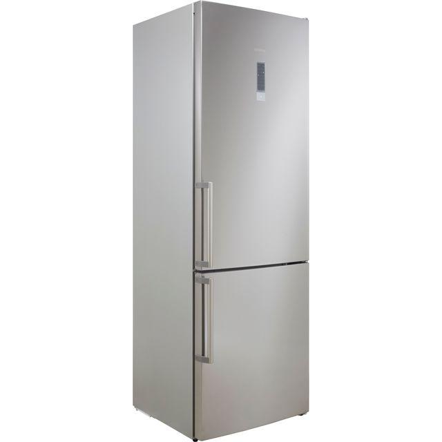 Siemens IQ-500 KG49NXIEPG 70/30 Frost Free Fridge Freezer - Black / Stainless Steel Look - A++ Rated