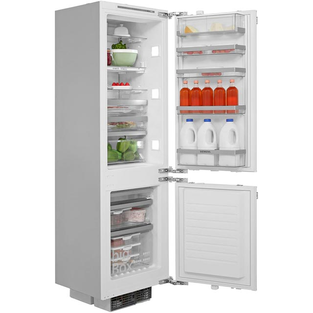 Siemens IQ-700 Integrated 70/30 Frost Free Fridge Freezer with Fixed Door Fixing Kit - White - A++ Rated