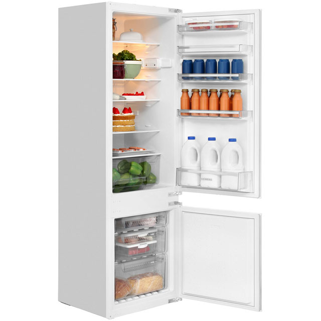 Siemens KI38VX22GB White, Built In Fridge Freezer lowest price