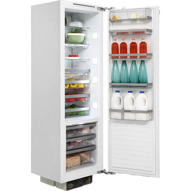Siemens IQ-700 KI42FP60GB Integrated Upright Fridge - Fixed Door Fixing Kit - White - A++ Rated - KI42FP60GB_WH - 1