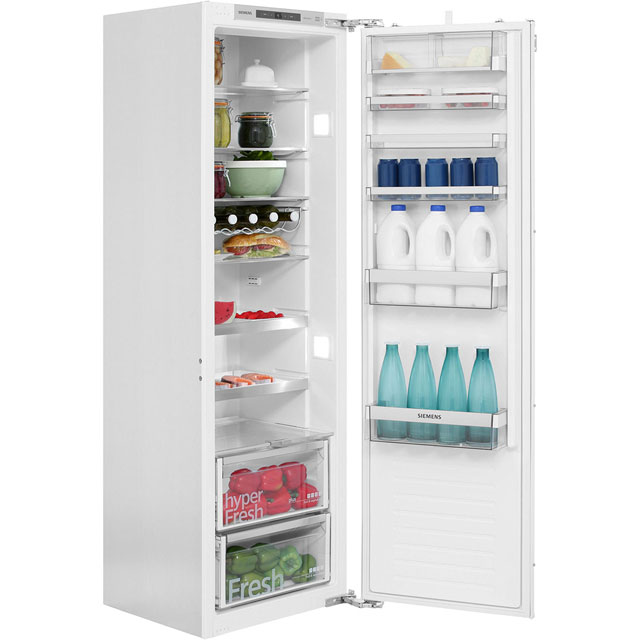 Siemens IQ-500 KI81RAF30G Integrated Upright Fridge - Fixed Door Fixing Kit - White - A++ Rated - KI81RAF30G_WH - 1