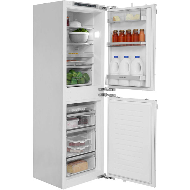 Siemens IQ-500 KI85NAD30G Integrated 50/50 Frost Free Fridge Freezer with Fixed Door Fixing Kit - White - A++ Rated - KI85NAD30G_WH - 1