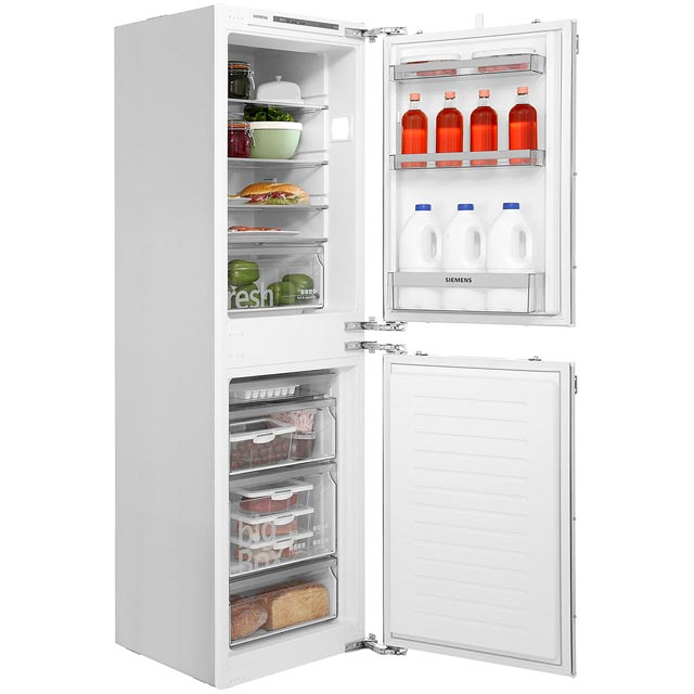 Siemens IQ-300 KI85VVF30G Integrated 50/50 Fridge Freezer with Fixed Door Fixing Kit - White - A++ Rated - KI85VVF30G_WH - 1