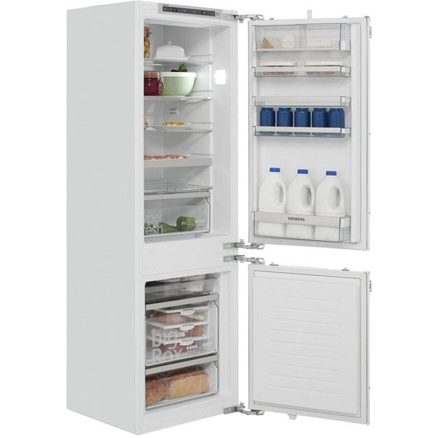 Siemens IQ-500 KI86SAF30G Integrated 70/30 Fridge Freezer with Fixed Door Fixing Kit - White - A++ Rated - KI86SAF30G_WH - 1