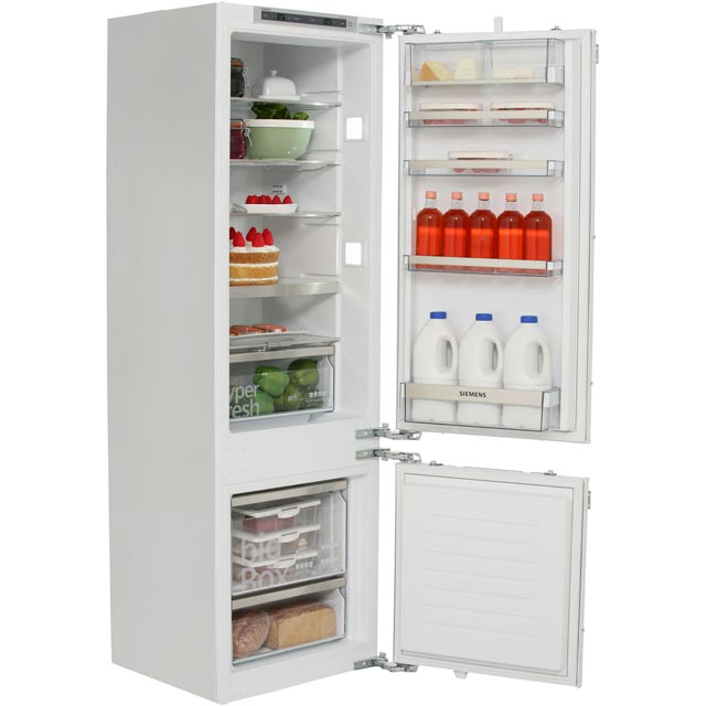 Siemens IQ-500 KI87SAF30G Integrated 70/30 Fridge Freezer with Fixed Door Fixing Kit - White - A++ Rated - KI87SAF30G_WH - 1