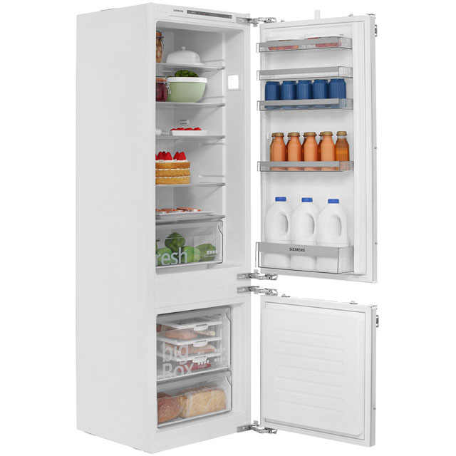 Siemens IQ-300 KI87VVF30G Integrated 70/30 Fridge Freezer with Fixed Door Fixing Kit - White - A++ Rated - KI87VVF30G_WH - 1