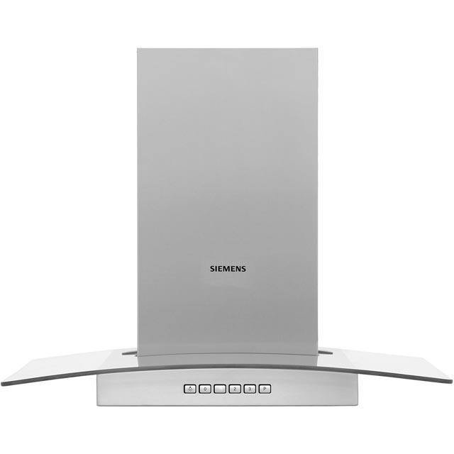 Siemens IQ-300 LC67GB532B 60 cm Chimney Cooker Hood - Stainless Steel / Glass - A+ Rated