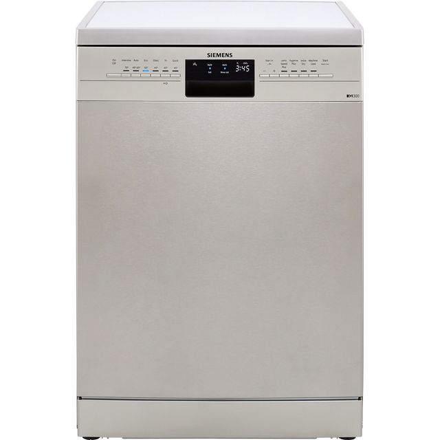 Siemens IQ-300 SN236I03MG Standard Dishwasher - Silver - A++ Rated