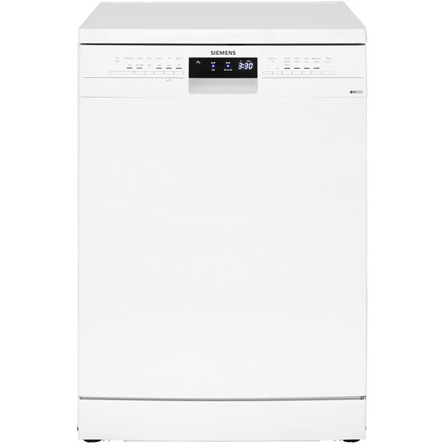 Siemens IQ-300 SN236W01IG Standard Dishwasher - White - A++ Rated