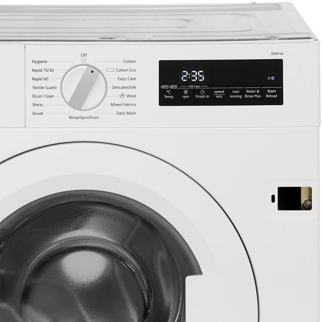 ... Siemens IQ 700 WI14W500GB Integrated 8Kg Washing Machine With 1400 Rpm    A+++ Rated ...