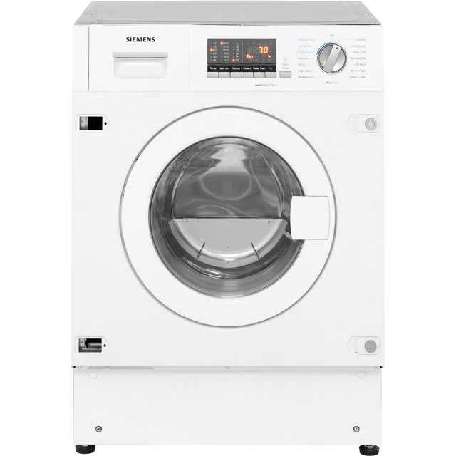 Siemens IQ-500 WK14D541GB Built In 7Kg / 4Kg Washer Dryer - White - WK14D541GB_WH - 3