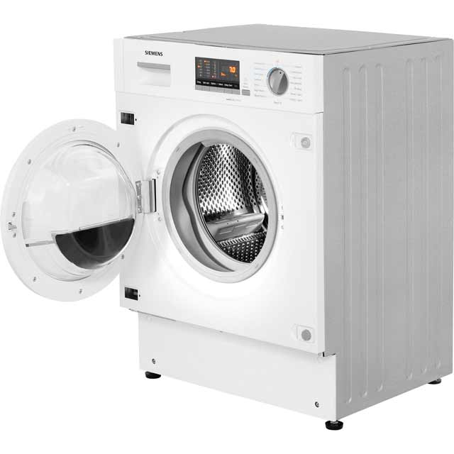 Siemens IQ-500 WK14D541GB Built In 7Kg / 4Kg Washer Dryer - White - WK14D541GB_WH - 4