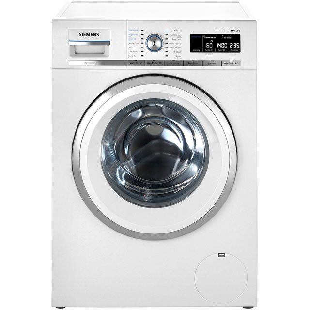 Siemens IQ-500 WM14W750GB 9Kg Washing Machine with 1400 rpm - White - A+++ Rated