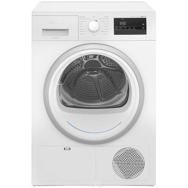 Siemens IQ-300 WT45H200GB 8Kg Heat Pump Tumble Dryer - White - A++ Rated