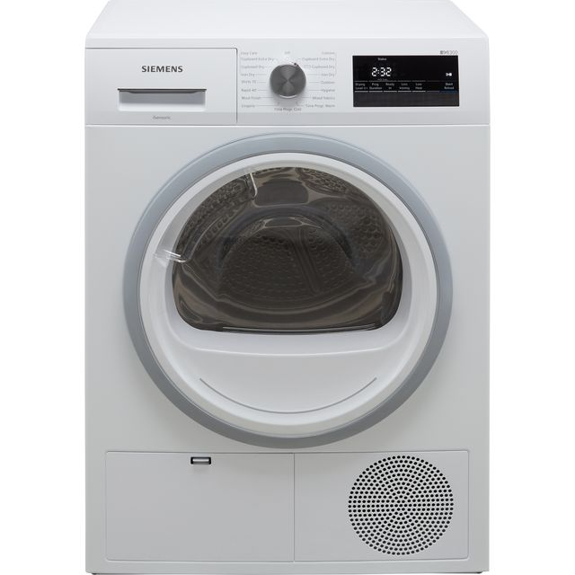 Siemens IQ-300 WT45N202GB 8Kg Condenser Tumble Dryer - White - B Rated
