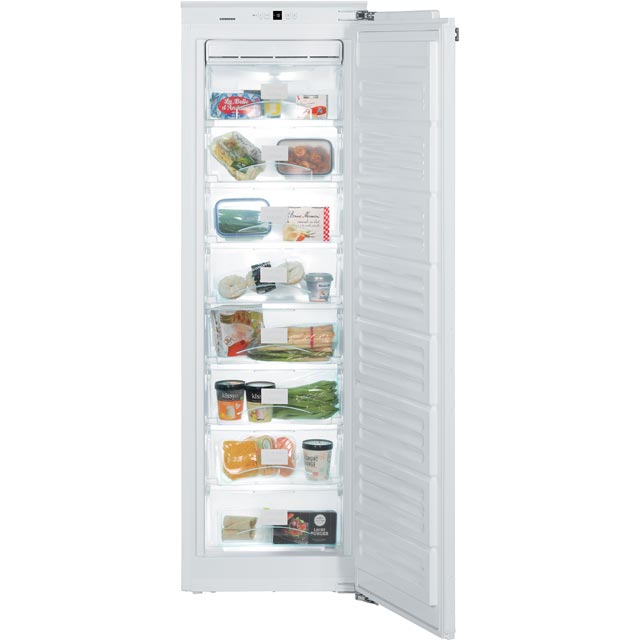 Liebherr Integrated Frost Free Upright Freezer with Fixed Door Fixing Kit - A++ Rated