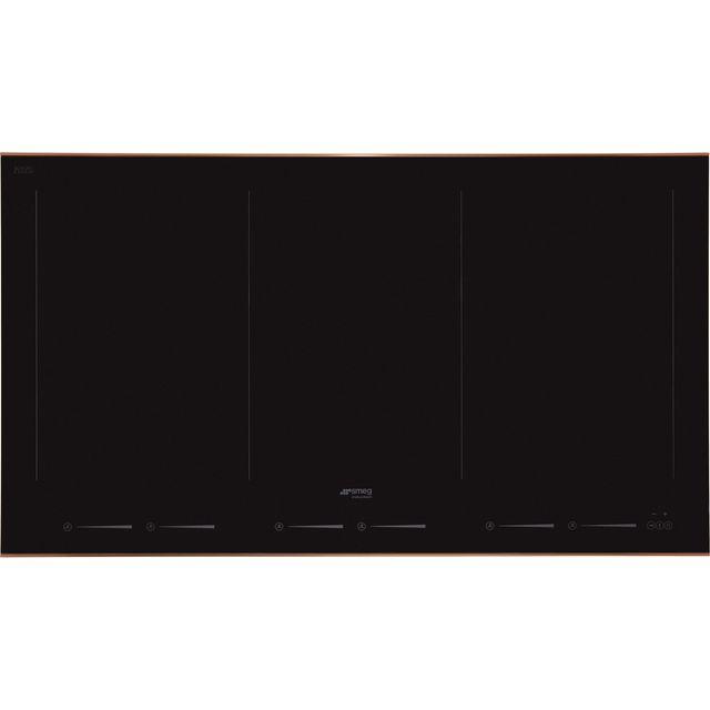 Smeg Dolce Stil Novo SIM693WLDR 90cm Induction Hob – Black / Copper