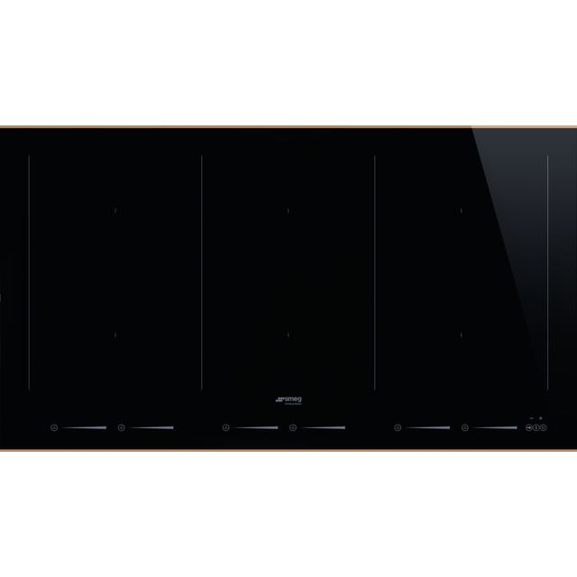 Smeg Dolce Stil Novo SIM693WLDR Built In Induction Hob - Black / Copper - SIM693WLDR_BKC - 1