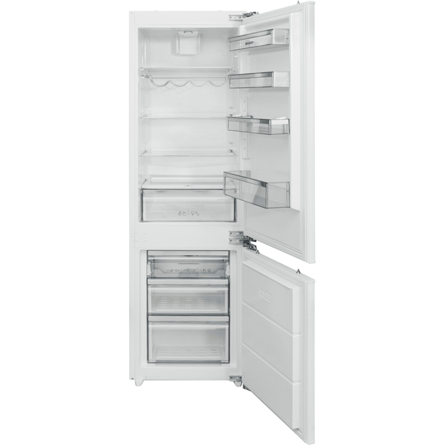 Sharp SJ-B1237M01X-EN Integrated 70/30 Frost Free Fridge Freezer - White - A+ Rated Best Price, Cheapest Prices
