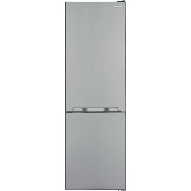 Sharp SJ-BA10IMXI1-EN 60/40 Frost Free Fridge Freezer - Stainless Steel Effect - SJ-BA10IMXI1-EN_SSL - 1