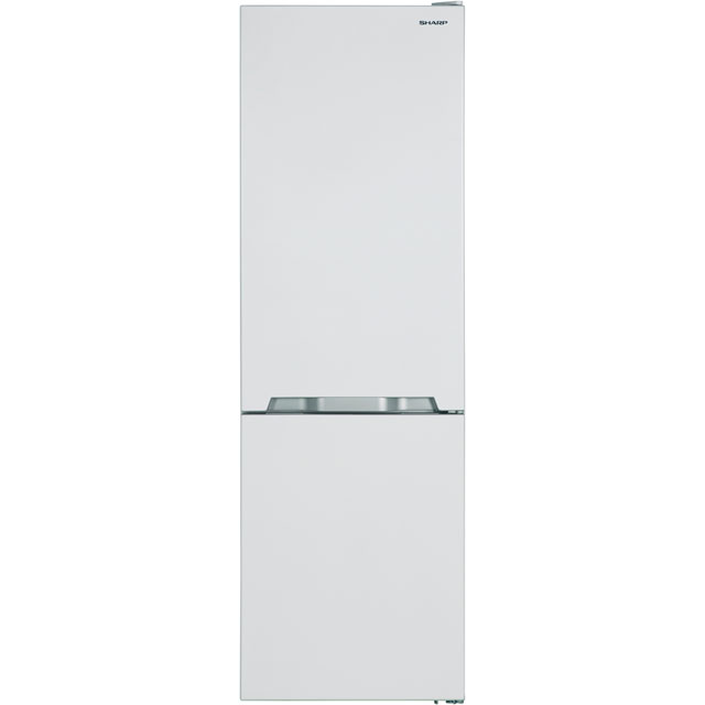 Sharp SJ-BA10IMXW1-EN 60/40 Frost Free Fridge Freezer - White - A+ Rated - SJ-BA10IMXW1-EN_WH - 1