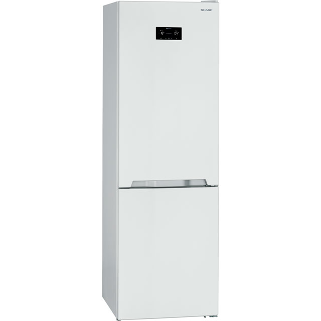 Sharp 60/40 Frost Free Fridge Freezer - White - A++ Rated